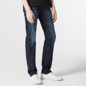 AG Matchbox Slim Straight Jeans Size 29/34